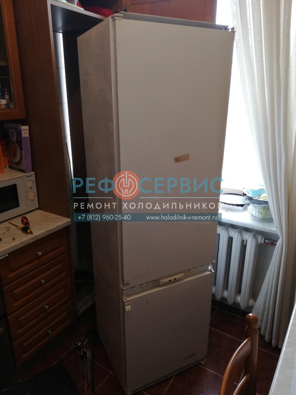 Замена термостата и заправка хладагентом холодильника ARISTON OK-RF 3300