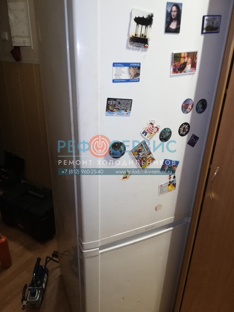 Ремонт трубки и заправка хладагентом холодильника SAMSUNG RL36EBSW