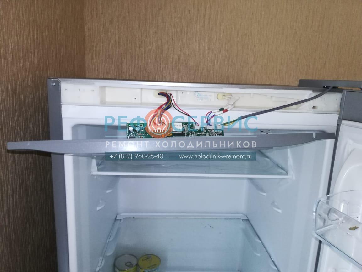 Ремонт электронного модуля в холодильнике INDESIT DF5200S