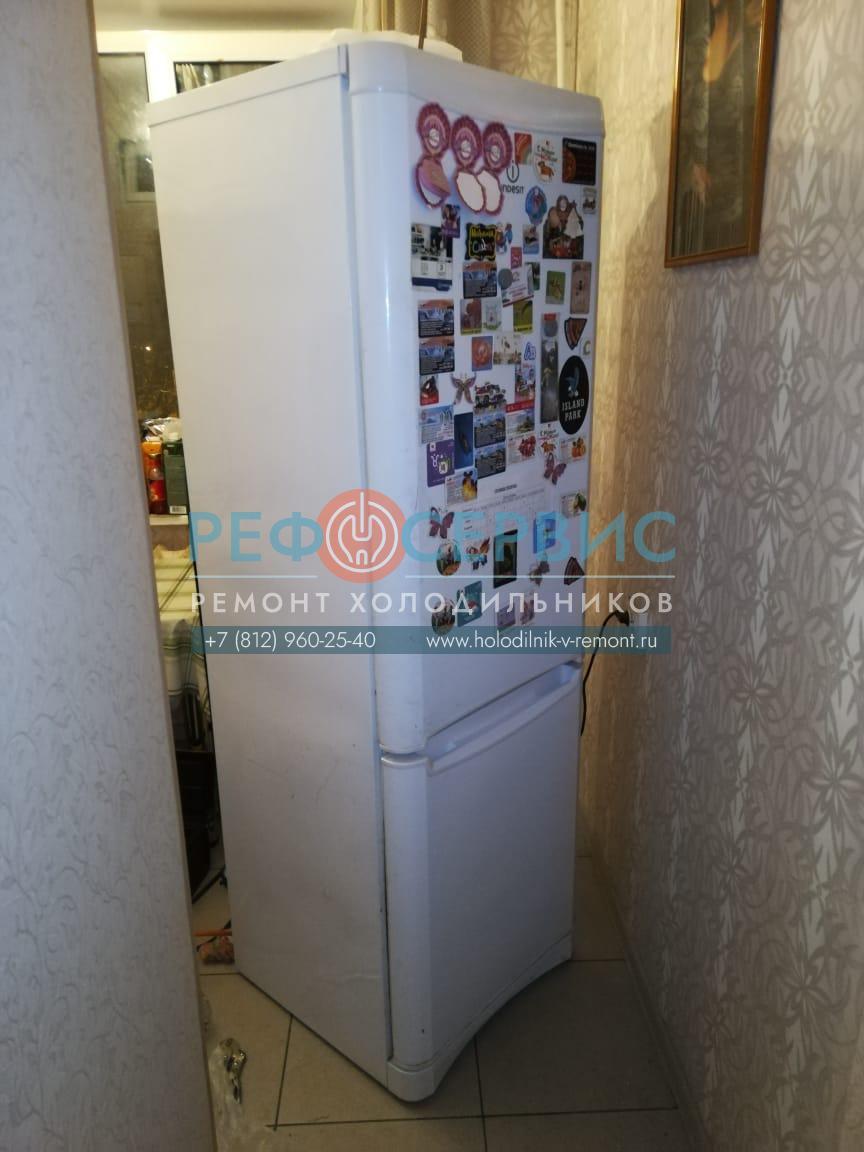 Замена компрессора в холодильнике INDESIT B18.023