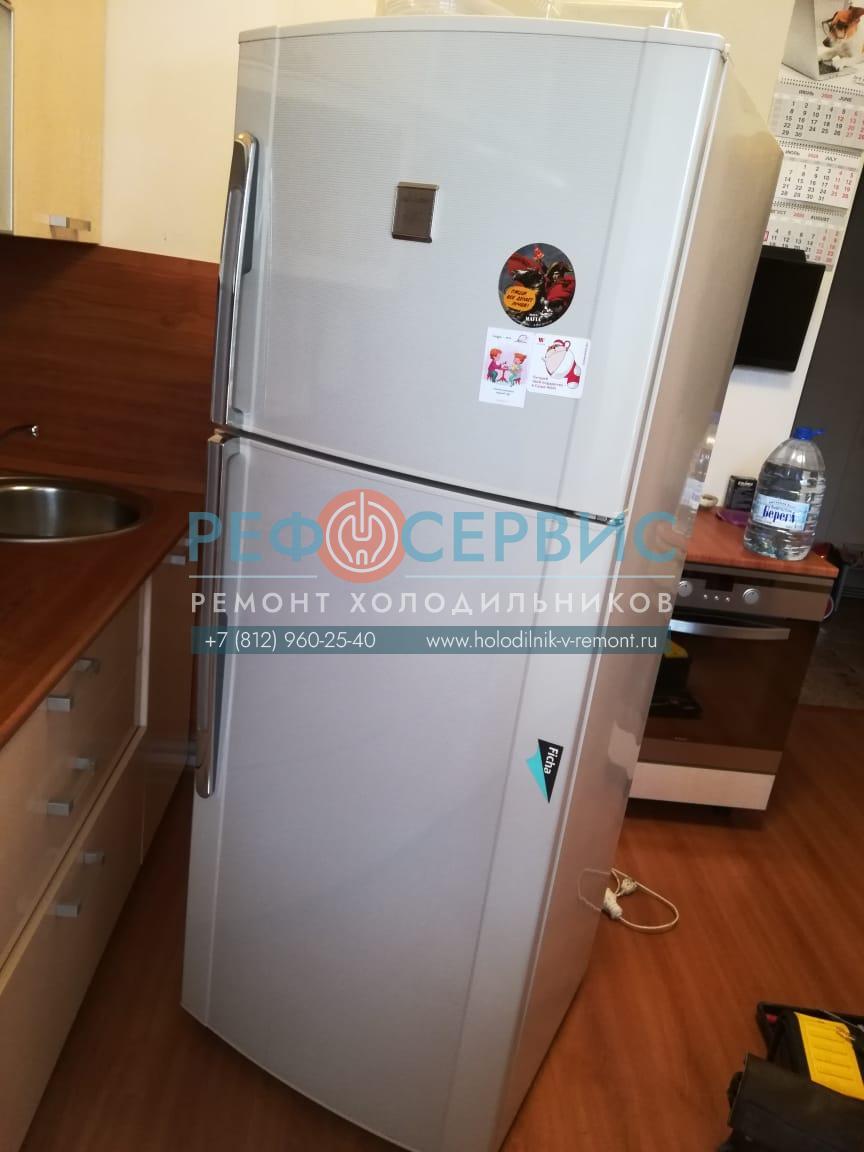Замена компрессора в холодильнике SHARP SJ-42M-BE