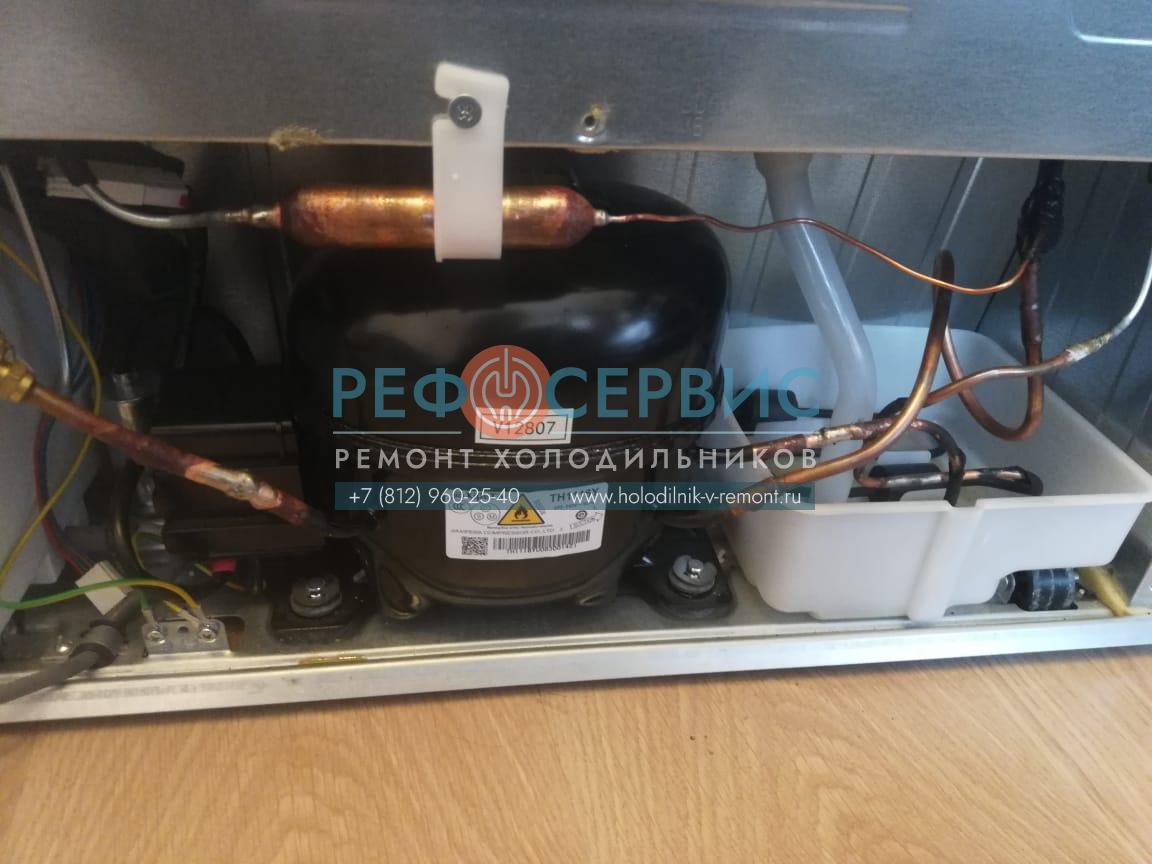 Устранение утечки и заправка хладагентом холодильника HAIER C2F537CMSG